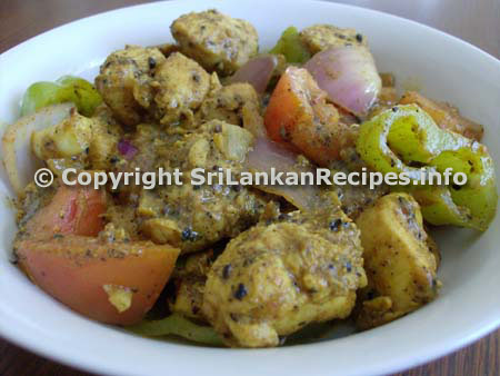 Sri Lankan Chicken recipe