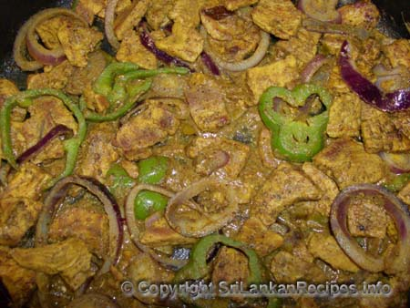 Sri Lankan Pork with Gravy Recipe