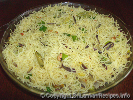 Sri Lankan rice stick/ noodles recipe