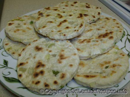 Sri Lankan Rotti recipe