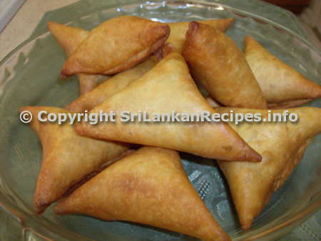 Sri lankan Samosa recipe