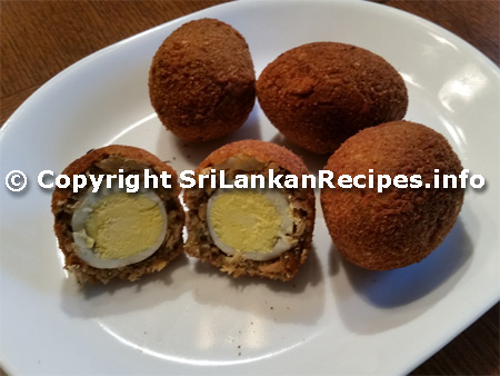 Sri lankan Scotch Egg recipe