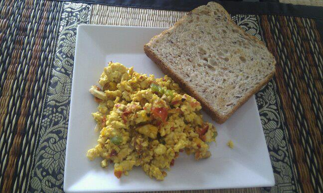 Sri Lankan Scrambled Tofu Recipe