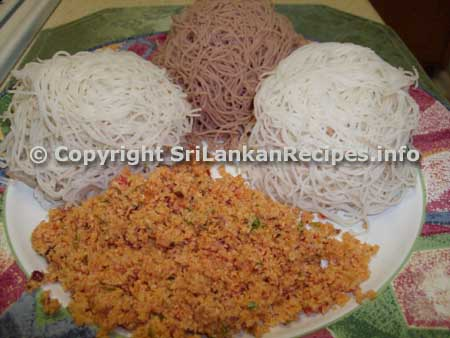 Sri lankan string hoppers recipe