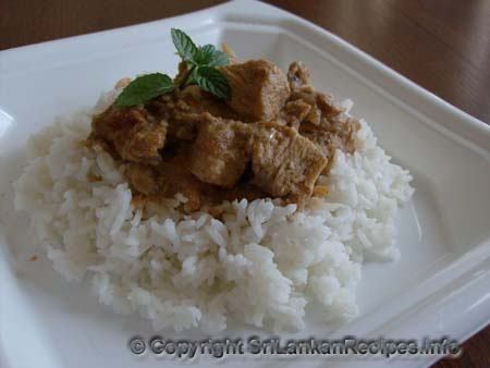 Sri Lankan Chicken khorma recipe