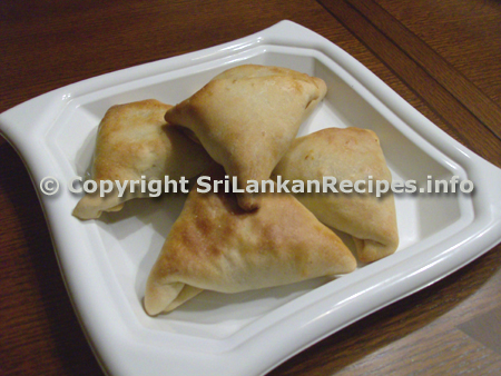 Sri lankan fish/beef bun (malu pan) recipe