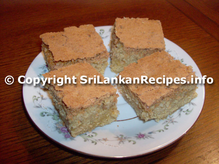 Sri lankan Love Cake recipe